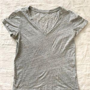 Jcrew Silver Sheen Heather T-shirt Size Small